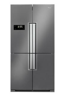 Réfrigérateur américain Whirlpool: couleur inox - WMD 4001 X