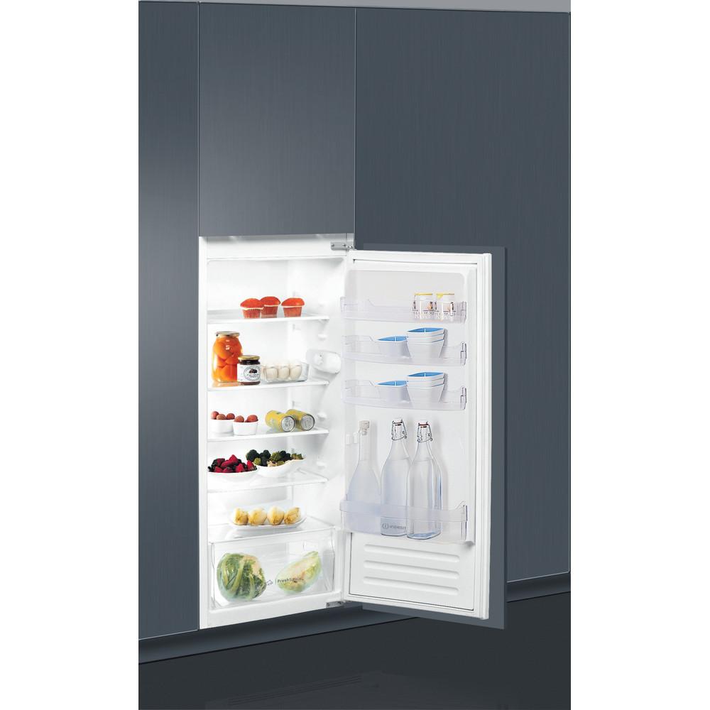 Indesit Réfrigérateur Encastrable S 12 A1 D/I 1 Inox Perspective open