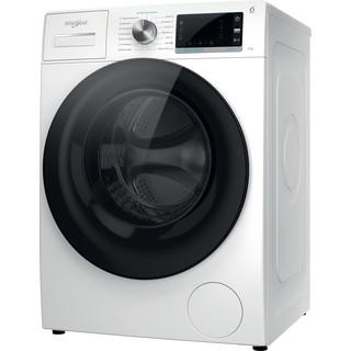 Whirlpool Perilica za rublje Samostojeći W6X W845WB EE Bijela Prednje punjenje B Perspective