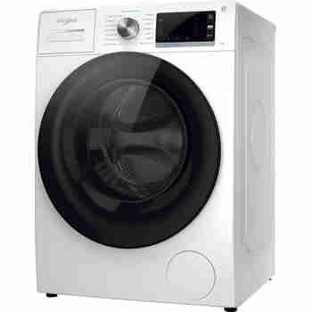 Whirlpool Wasmachine Vrijstaand W6X W845WB EE Wit Voorlader B Perspective