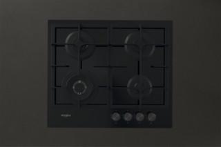 Whirlpool plinska kuhalna plošča: 4 plinski gorilniki - GOFL 629/NB