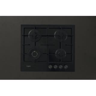 Whirlpool Ploča za kuhanje GOFL 629/NB Crna Plinska Frontal