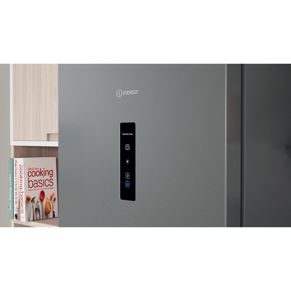 Indesit Холодильник с морозильной камерой Отдельно стоящий ITI 5201 S UA Серебристый 2 doors Lifestyle control panel
