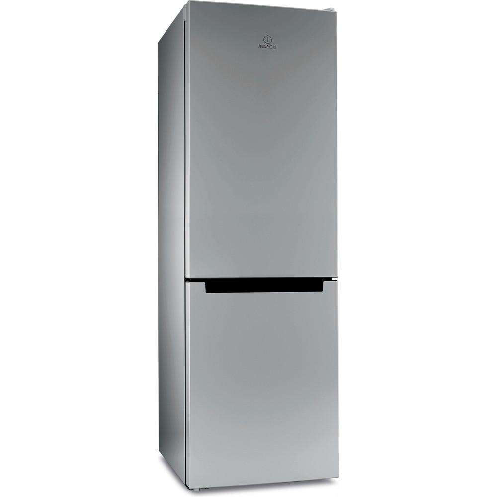 Indesit Холодильник с морозильной камерой Отдельностоящий DS 4180 SB Серебристый 2 doors Perspective