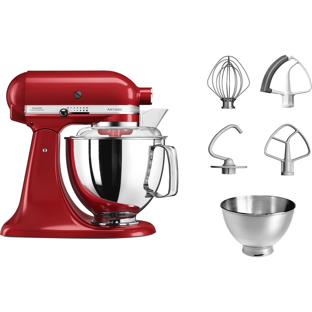 MIXER TILT-HEAD 4.8L - ARTISAN WITH EXTRA ACCESSORIES 5KSM175PS