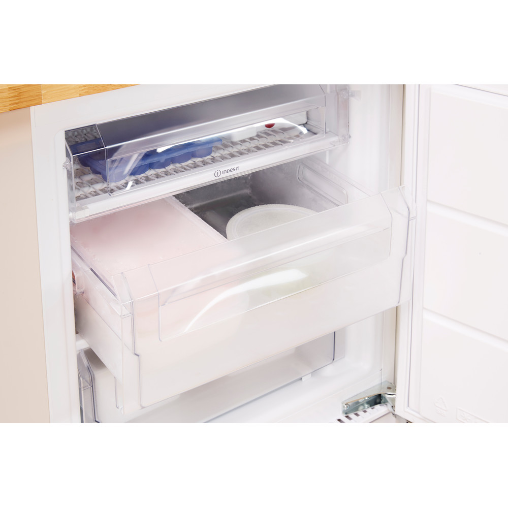 Indesit Freezer Built-in IZ A1.UK 1 Steel Drawer