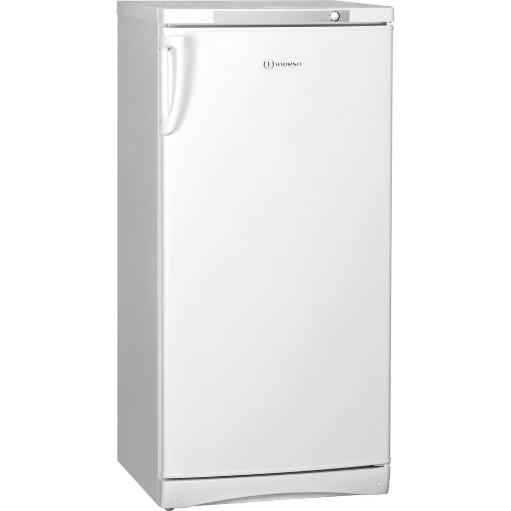 Indesit Холодильник Отдельностоящий ITD 125 W Белый Perspective