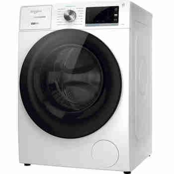 Whirlpool Wasmachine Vrijstaand W7 W845WR NL Wit Voorlader B Perspective