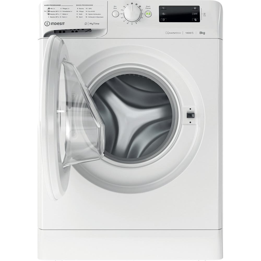 Indesit Waschmaschine Freistehend MTWE 81483E W DE Weiß Frontlader D Frontal open