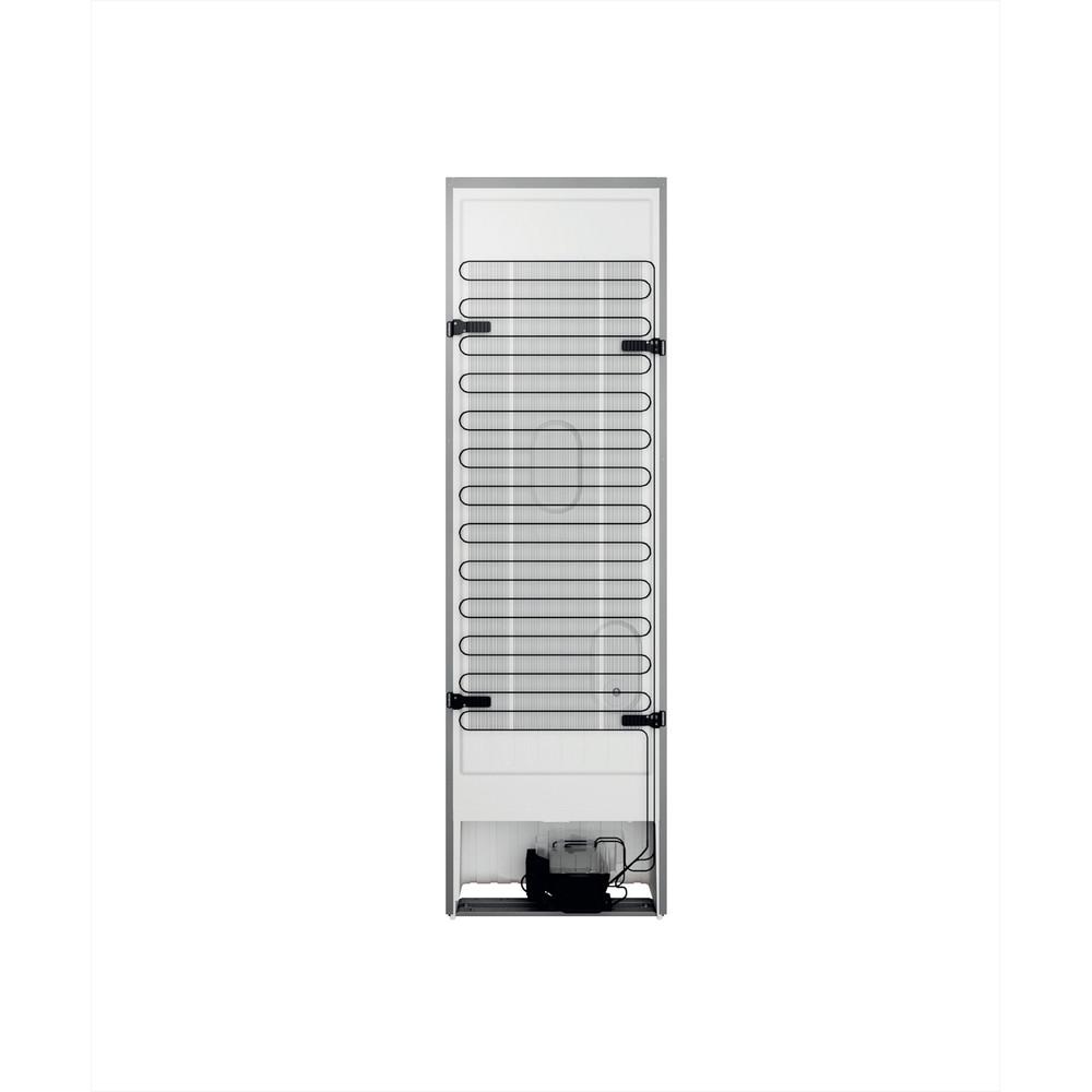 Indesit Combiné réfrigérateur congélateur Pose-libre INFC9 TO32X Inox 2 portes Back / Lateral