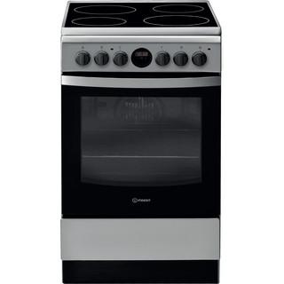 Indesit Cucina con forno a doppia cavità IS5V8CHX/E Inox Elettrico Frontal