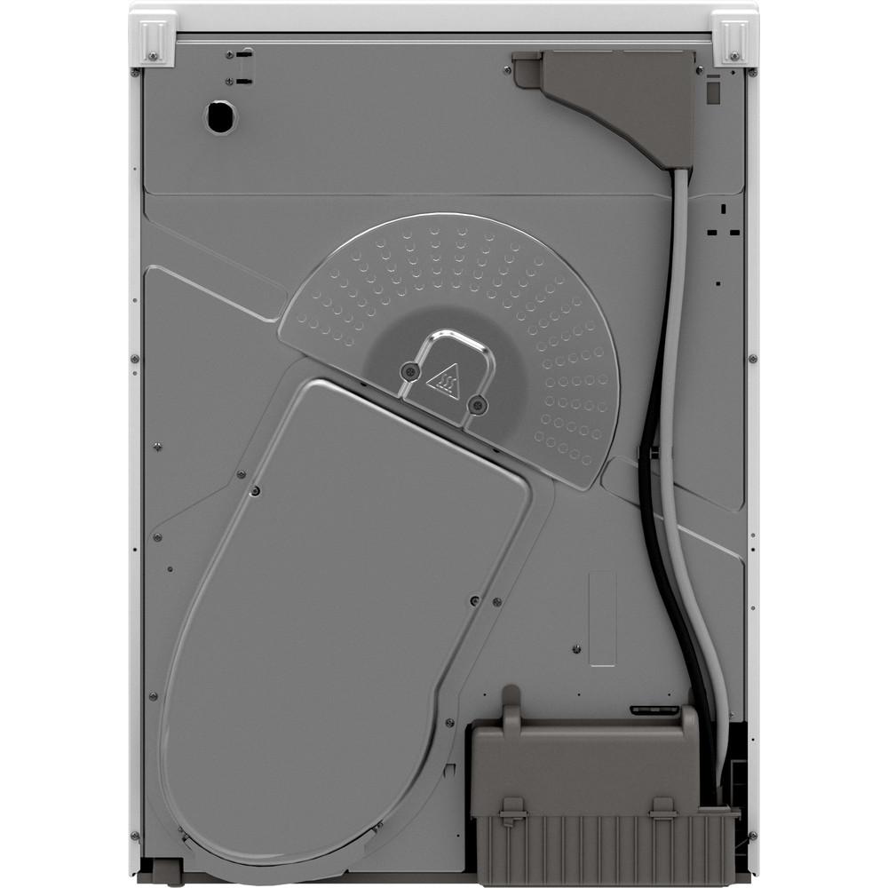 Indesit Dryer I2 D81W UK White Back / Lateral