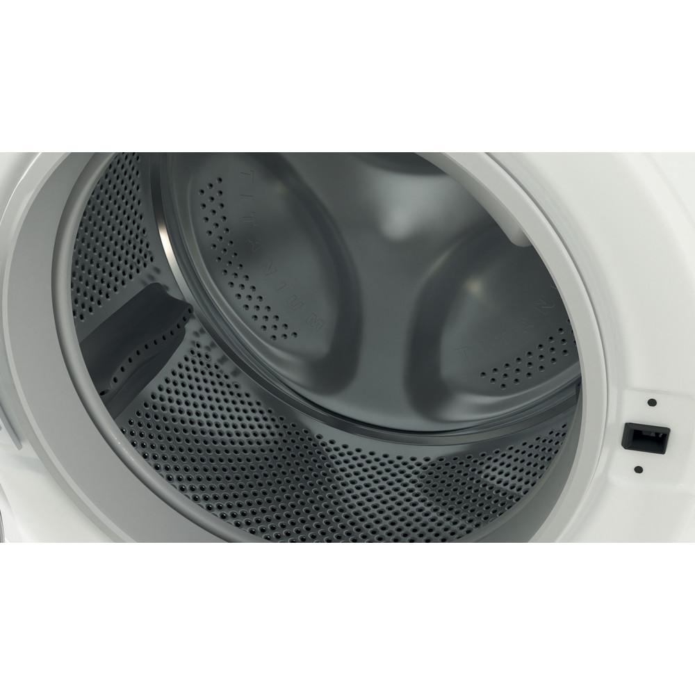Indesit Lavadora secadora Libre instalación BDE 761483X W SPT N Blanco Cargador frontal Drum