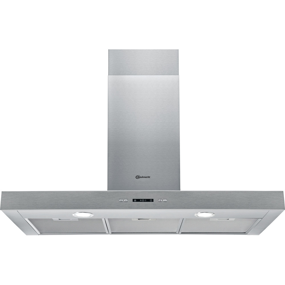 Bauknecht Hotte Appareil encastrable DBHBS 93 LL X Inox Montage mural Electronique Frontal