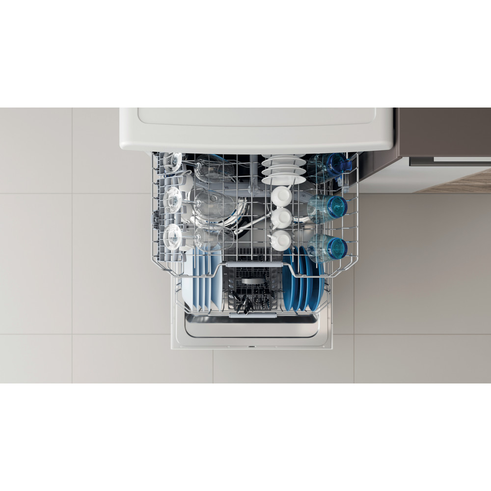 Indesit Lave-vaisselle Pose-libre DOFC 2B+16 Pose-libre F Rack