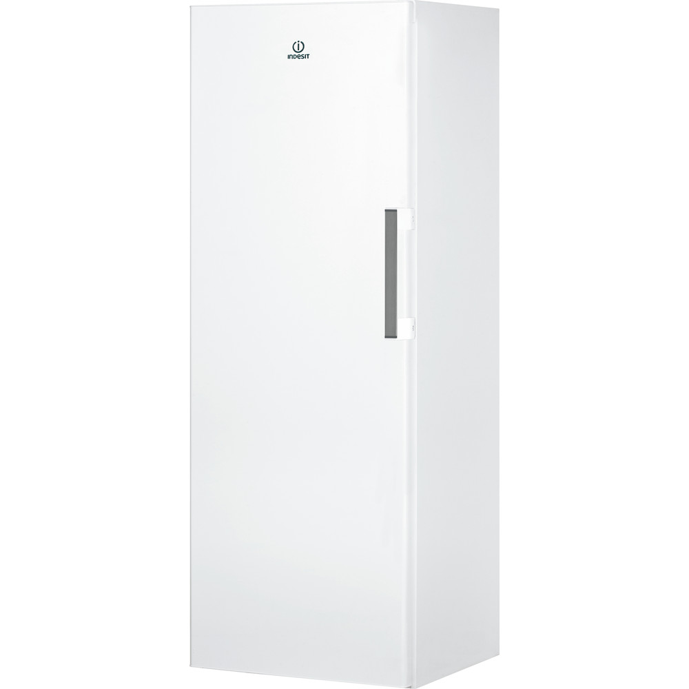 Indesit Freezer Free-standing UI6 F1T W UK 1 Global white Perspective