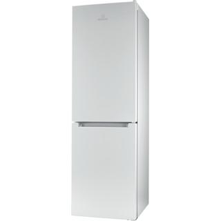 Indesit Комбиниран хладилник с камера Свободностоящи LI8 FF2 W Бял 2 врати Perspective