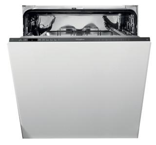 Whirlpool beépíthető mosogatógép: fekete szín., normál méretű - WIO 3T133 PE 6.5