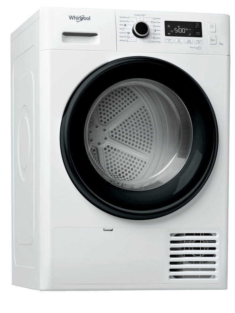 Whirlpool Dryer FT M11 82B EE Bela Perspective