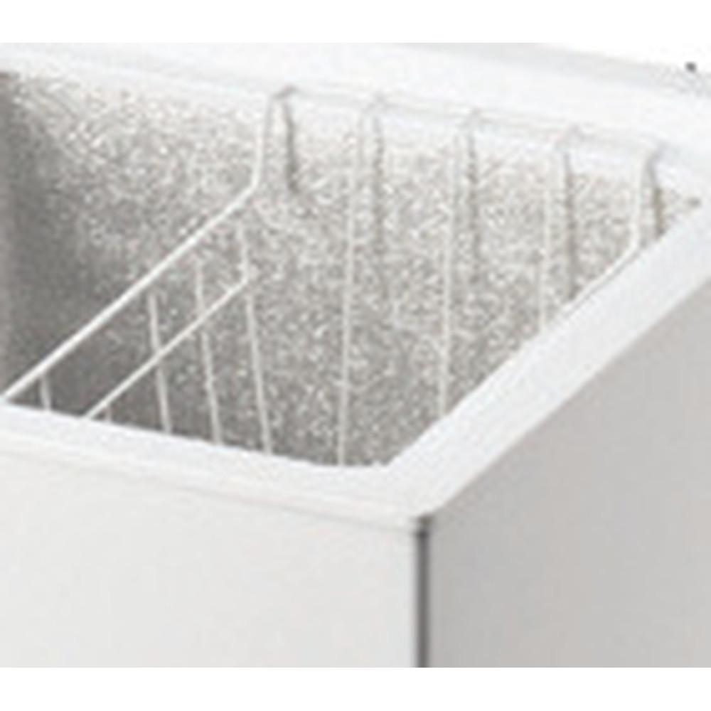 Indesit Congelador Livre Instalação OS 1A 100 2 Branco Accessory