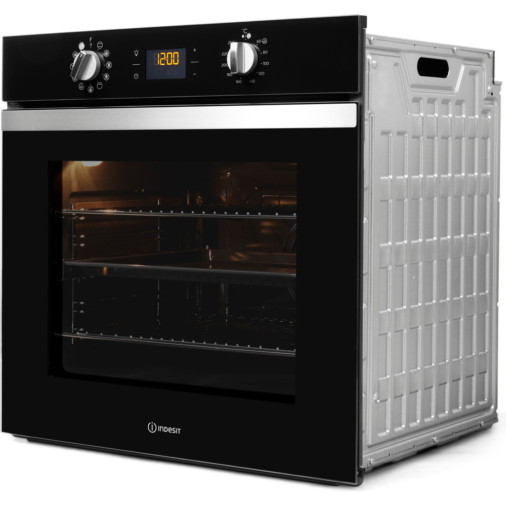 Indesit OVEN Built-in IFW 4841 C BL UK Electric A+ Perspective