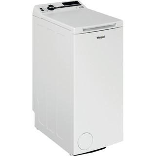 Whirlpool vrijstaande bovenlader wasmachine: 6,5 kg - TDLR 65242BS BX/N