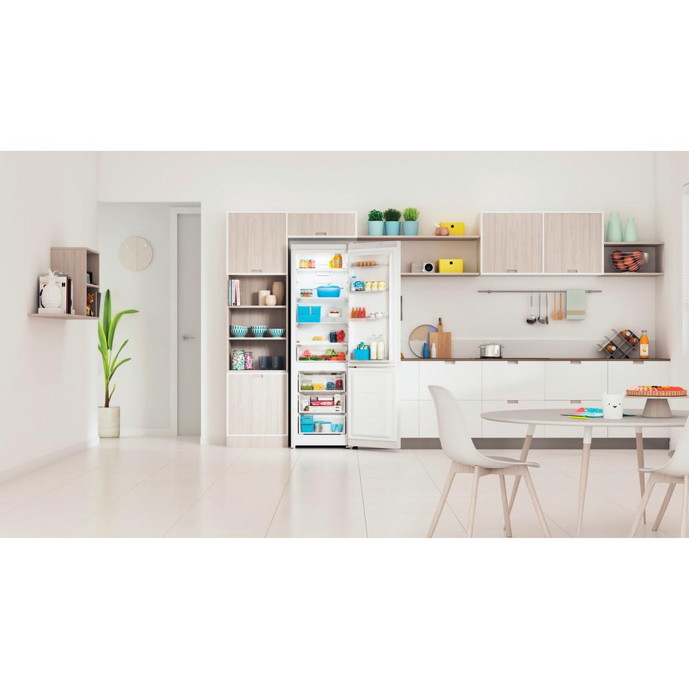 Indesit Холодильник с морозильной камерой Отдельно стоящий ITI 5201 W UA Белый 2 doors Lifestyle frontal open