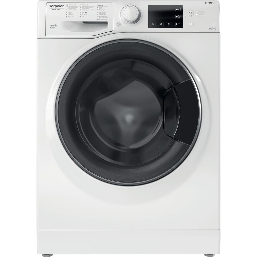 Hotpoint_Ariston Máquina de lavar e secar roupa Livre Instalação RDG 964348 WD V SPT Branco Carga Frontal Frontal