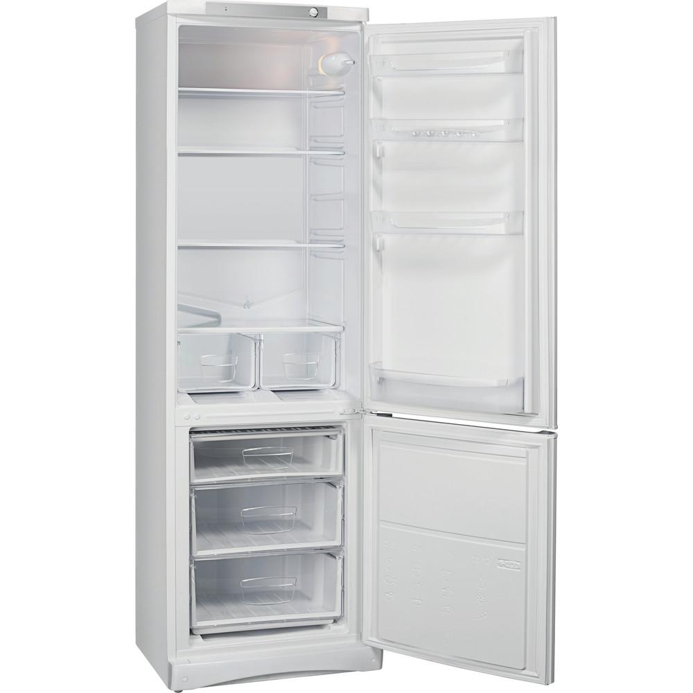 Indesit Холодильник с морозильной камерой Отдельностоящий ES 18 Белый 2 doors Perspective open