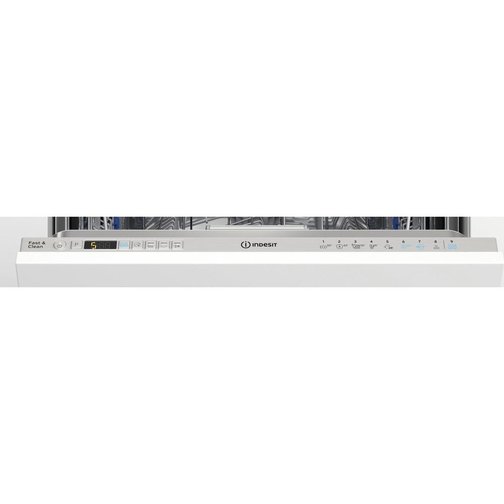 Indesit Geschirrspüler Einbau DIO 3T131 A FE X Vollintegrierbar D Control panel