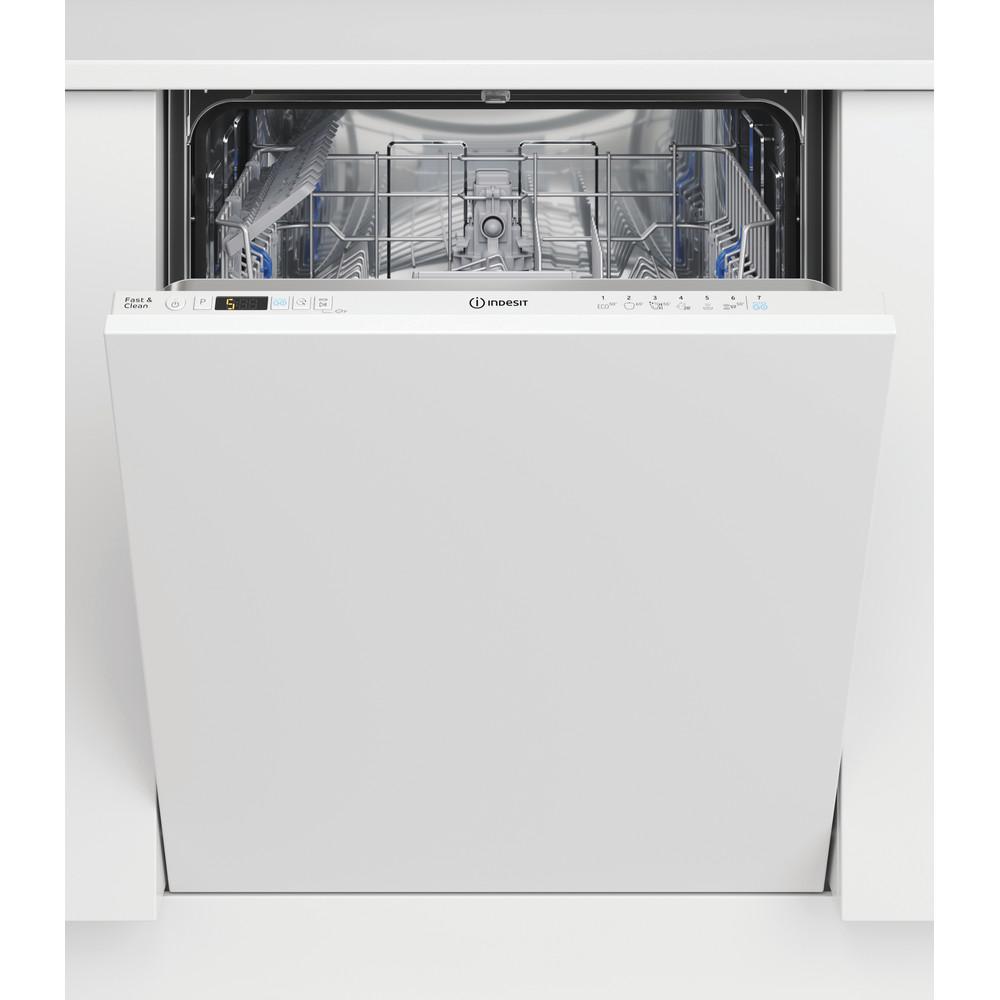 Indesit Посудомоечная машина Встраиваемый DIC 3B+19 Full-integrated A Frontal