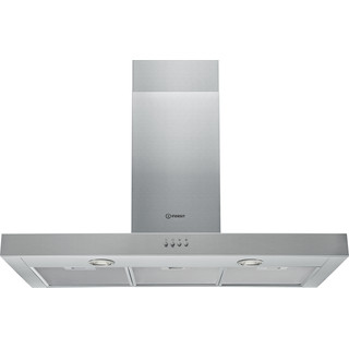 Indesit Hotte Encastrable IHBS 9.4 LM X Inox Mural Mécanique Frontal