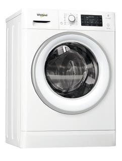 Fritstående Whirlpool-vaskemaskine/tørretumbler: 10 kg - FWDD1071681WS EU