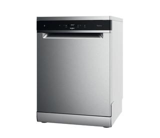 Whirlpool 60cm széles mosogatógép: Inox szín, normál méretű - WFC 3C33 PF X