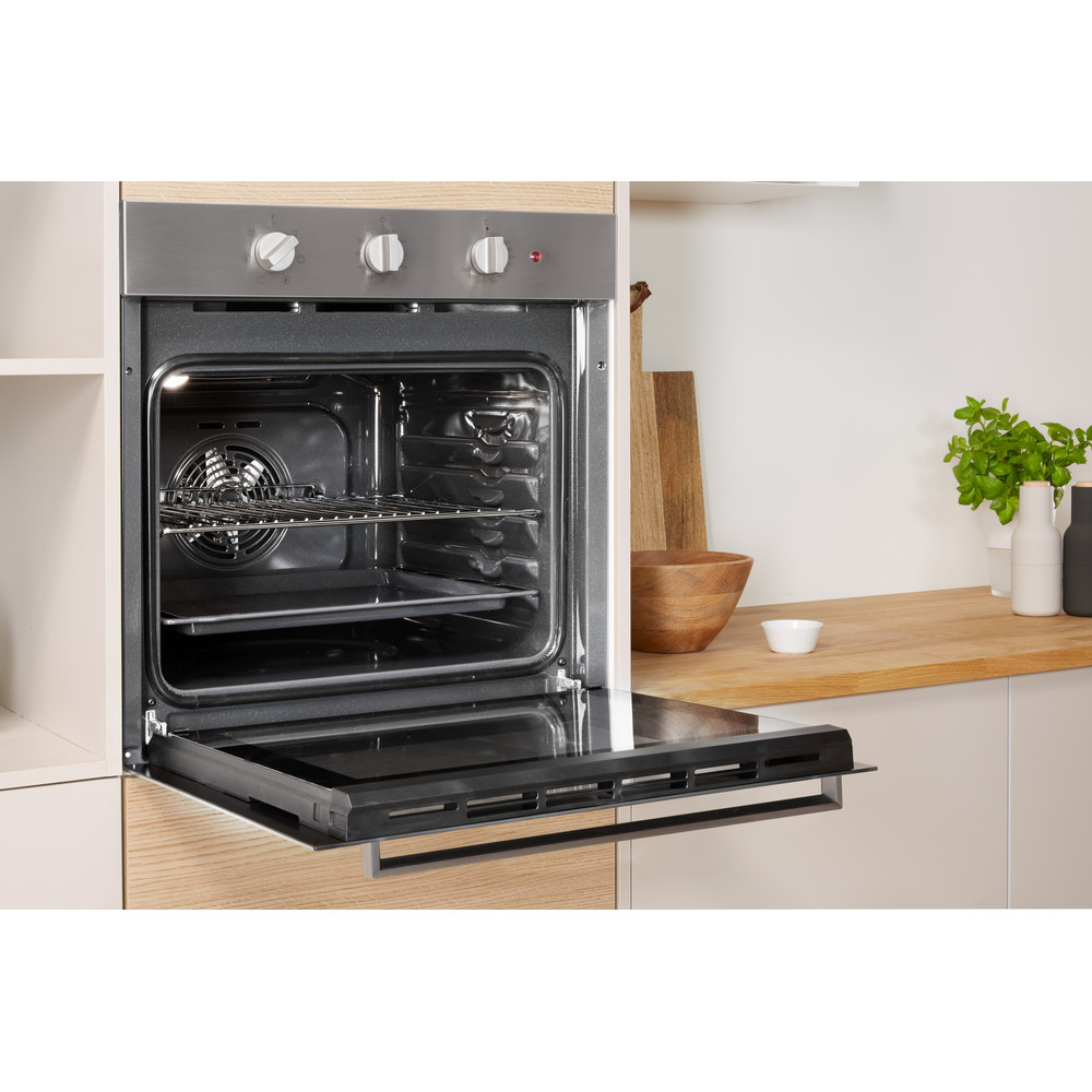 Indesit OVEN Built-in IFW 6330 IX UK Electric A Lifestyle perspective open