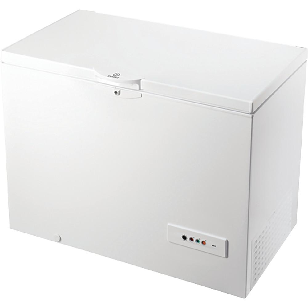Indesit Морозильная камера Отдельно стоящий OS 1A 250 H Белый Perspective