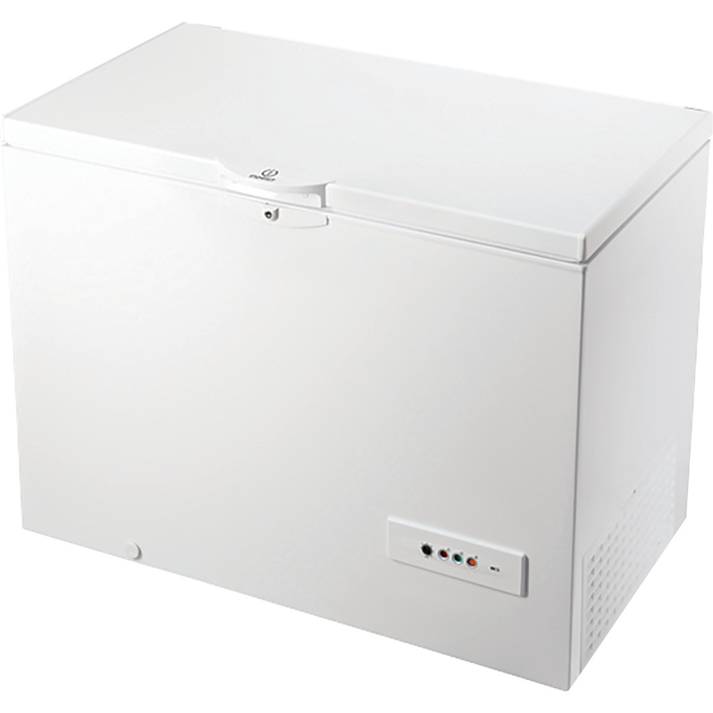 Indesit Фризер Свободностоящи OS 1A 300 H Бял Perspective