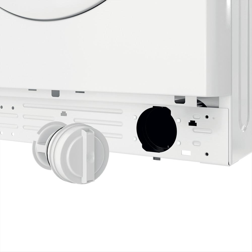 Indesit Lave-linge Pose-libre MTWE 81683 W EU Blanc Frontal D Filter