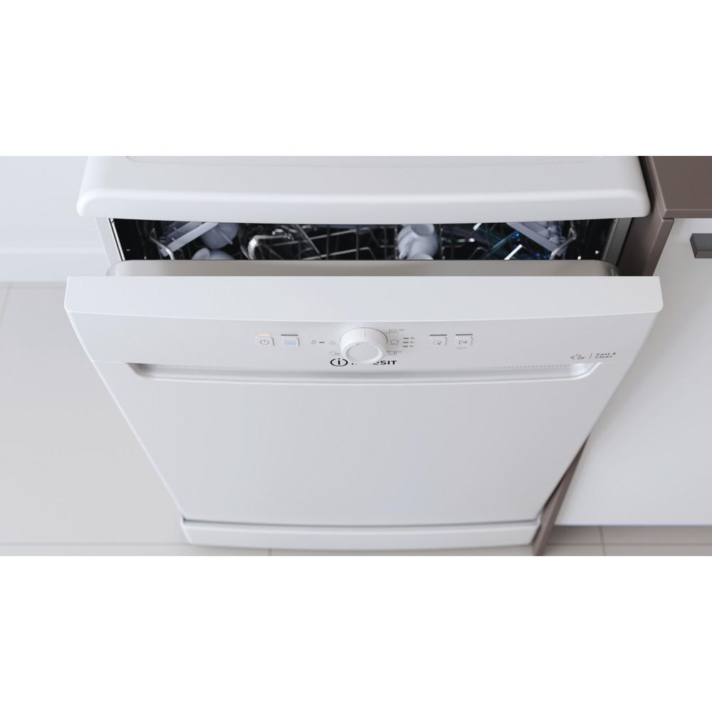 Indesit Lave-vaisselle Pose-libre DFE 1B19 14 Pose-libre F Lifestyle control panel