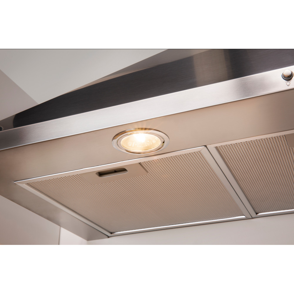 Indesit HOOD Built-in IHPC 9.4 AM X Inox Wall-mounted Mechanical Lifestyle detail