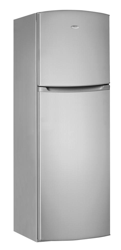 Whirlpool Combiné réfrigérateur congélateur Pose-libre WTE2921 A+NFS Argent 2 portes Perspective