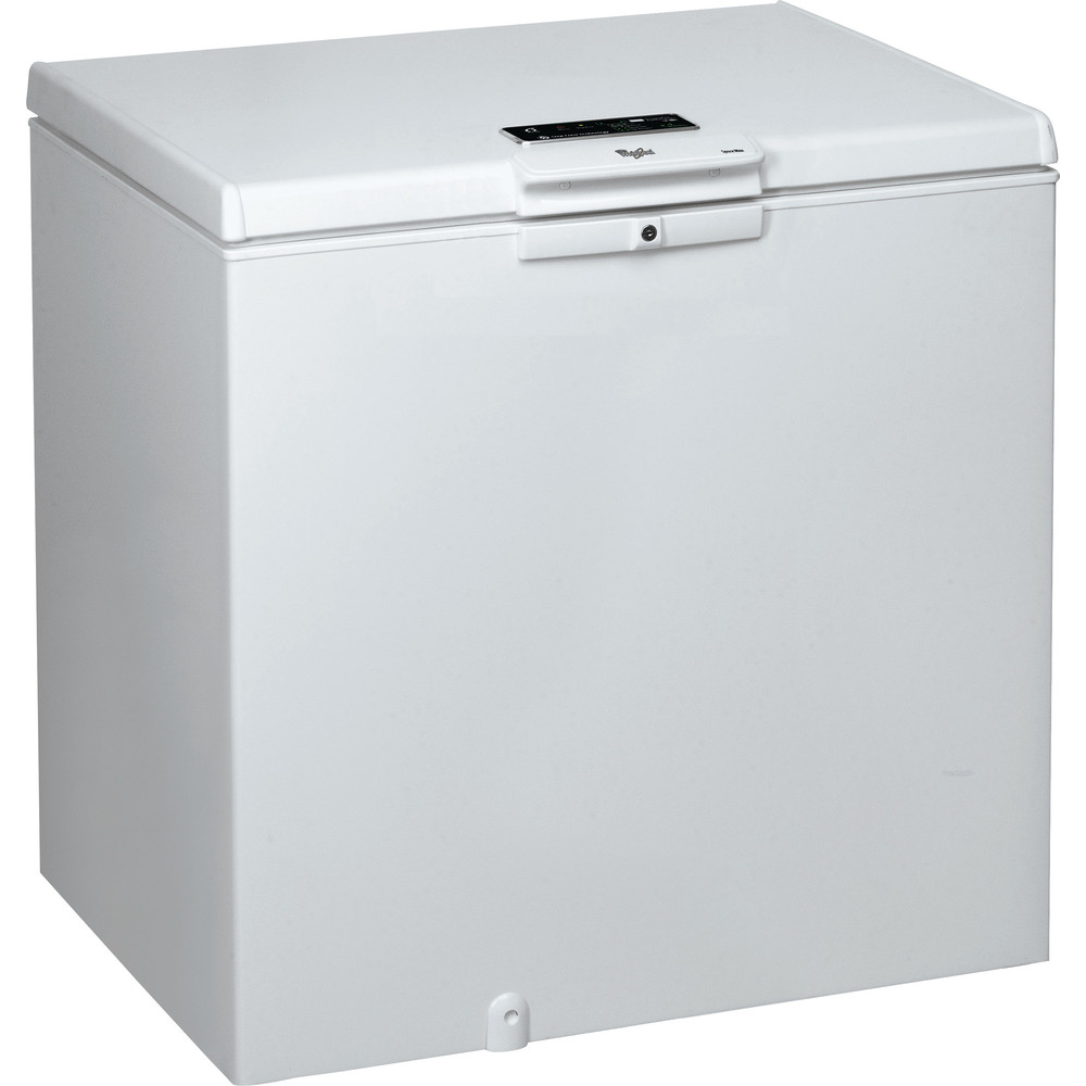 Congelador horizontal de libre instalación Whirlpool: color blanco - WHE2535 FO