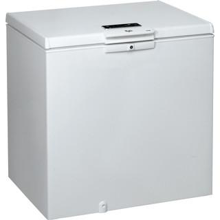 Whirlpool Congelador Independente com possibilidade de integrar WHE2535 FO Branco Perspective