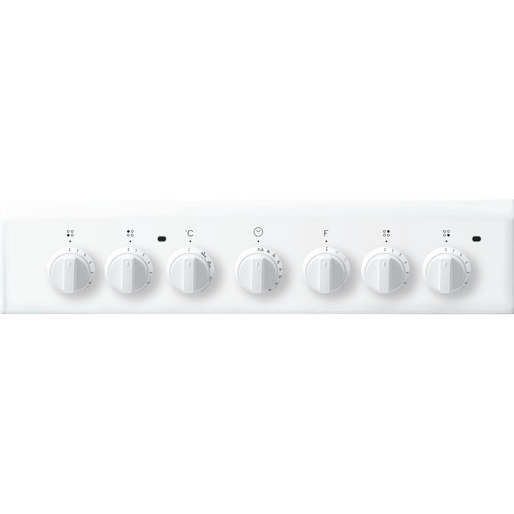 Indesit Plīts IS5V4PHW/E Balts Electrical Control panel