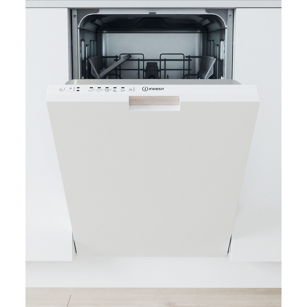 Indesit Lavavajillas Encastre DSIE 2B10 Full-integrated A + Lifestyle frontal