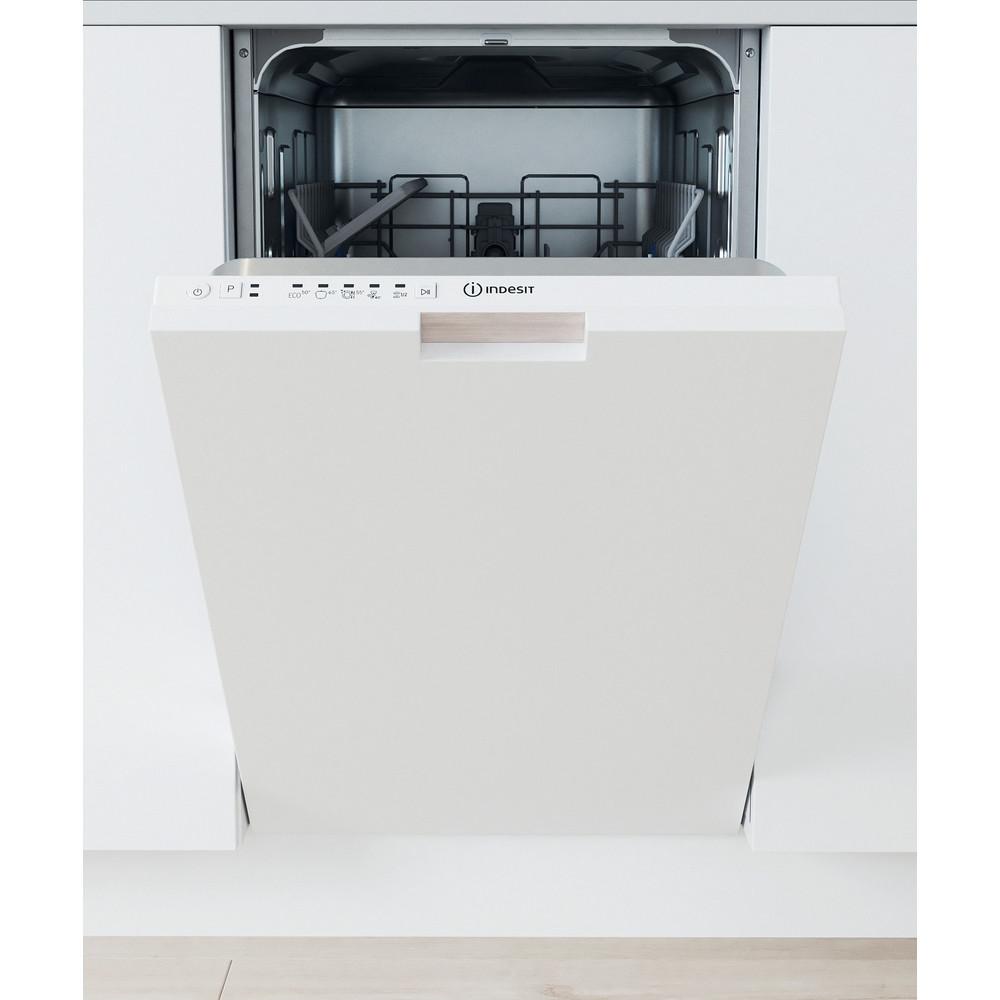 Indesit Mašina za pranje posuđa ugradbeni DSIE 2B10 A scomparsa totale A+ Lifestyle frontal