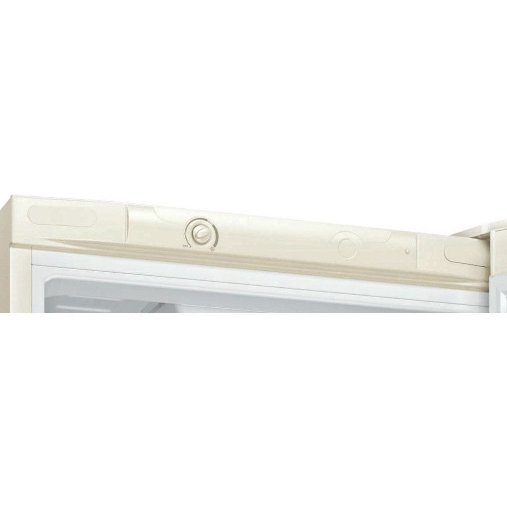 Indesit Холодильник с морозильной камерой Отдельностоящий DS 4180 E Розово-белый 2 doors Control panel