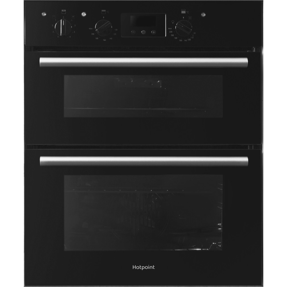 Hotpoint Double oven DU2 540 BL Black A Frontal