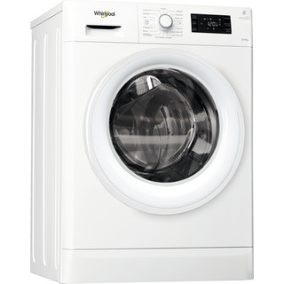 Lavasecadora carga frontal libre instalación Whirlpool: 8kg / 6kg Clase A FWDG86148W SP - FreshCare+