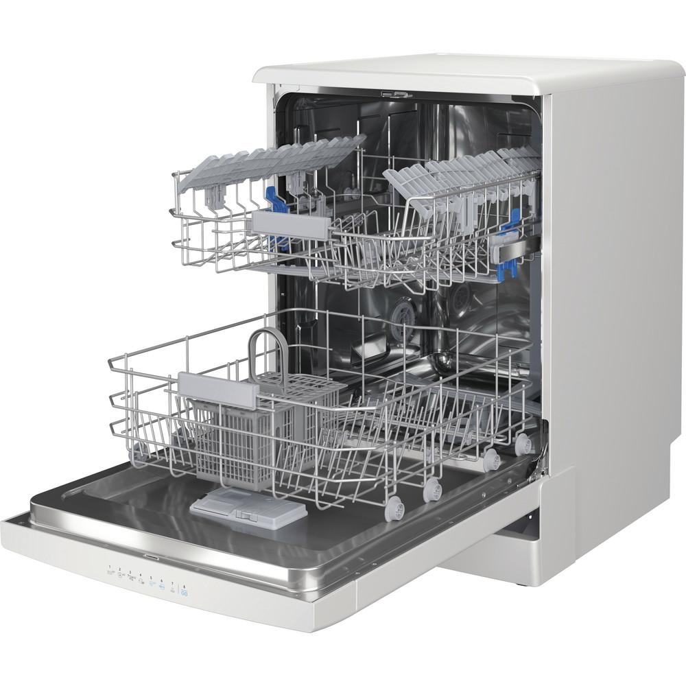 Indesit Lave-vaisselle Pose-libre DFO 3C23 A Pose-libre E Perspective open